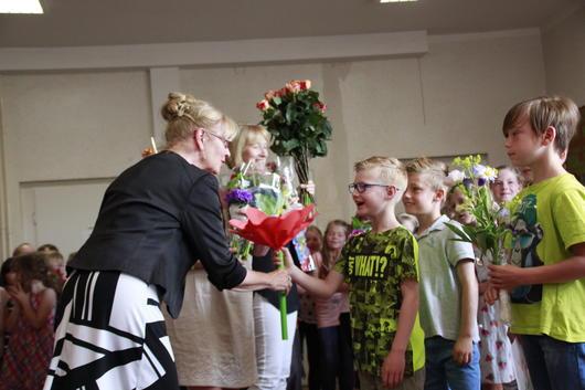 Jubiläum Prinzess Ilse Grundschule Verabschiedung Frau Denk